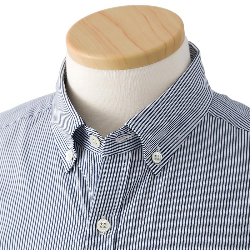 ストライプ/テーピングシャツ